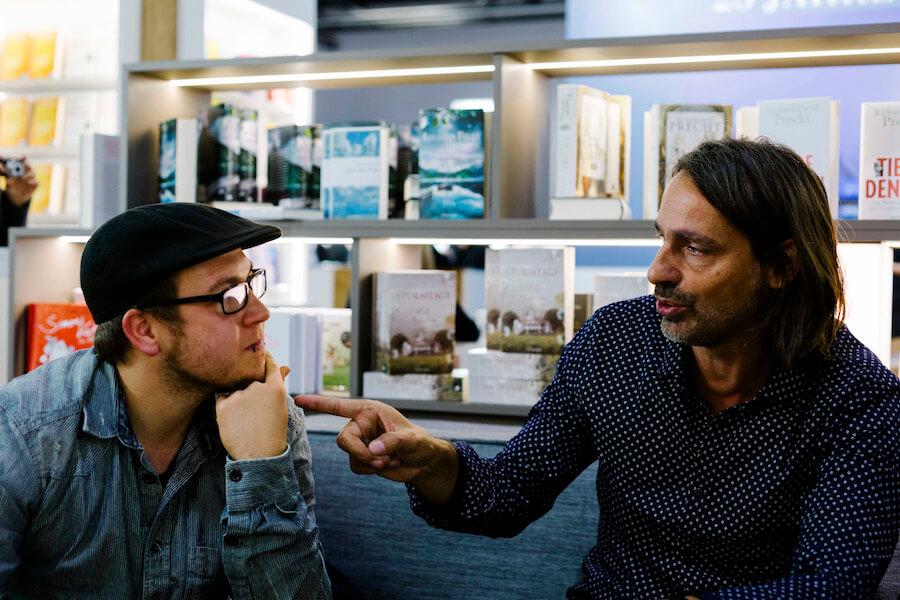 Richard David Precht im Interview mit veganmagazin