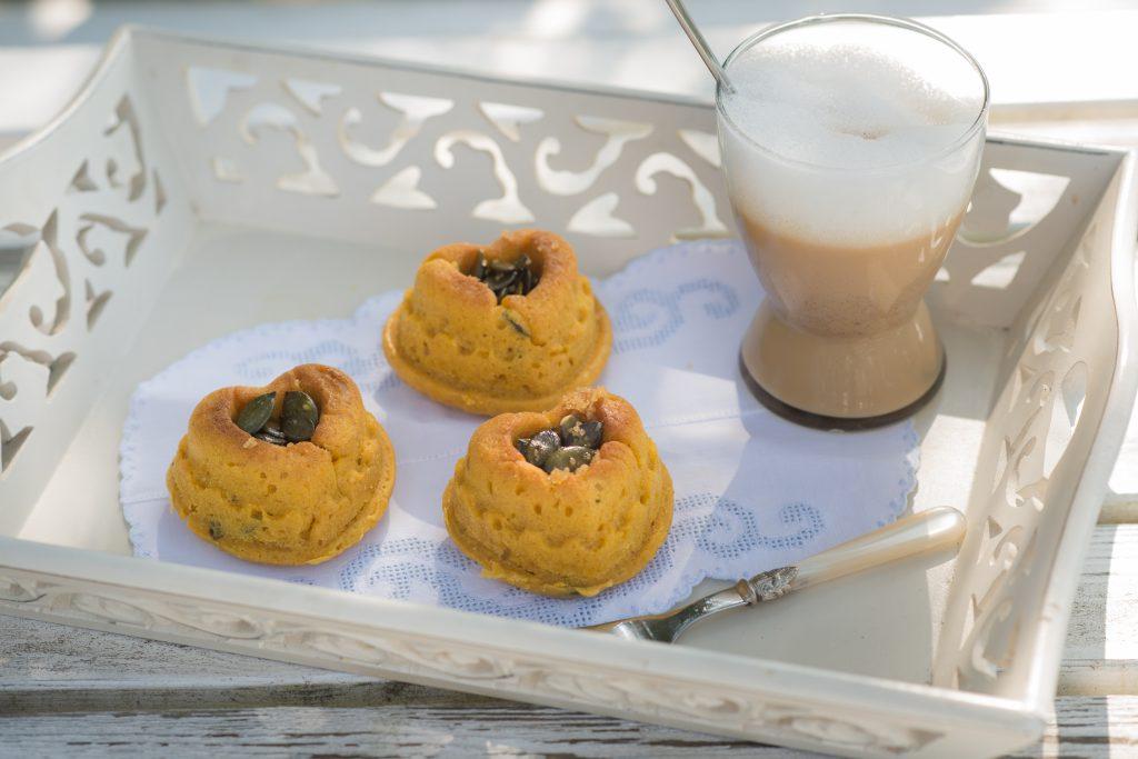 hokkaido-muffins & lupinen-kaffee
