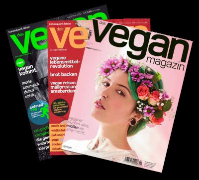 veganmagazin ausgaben beispiel